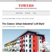 Towers web site screen shot