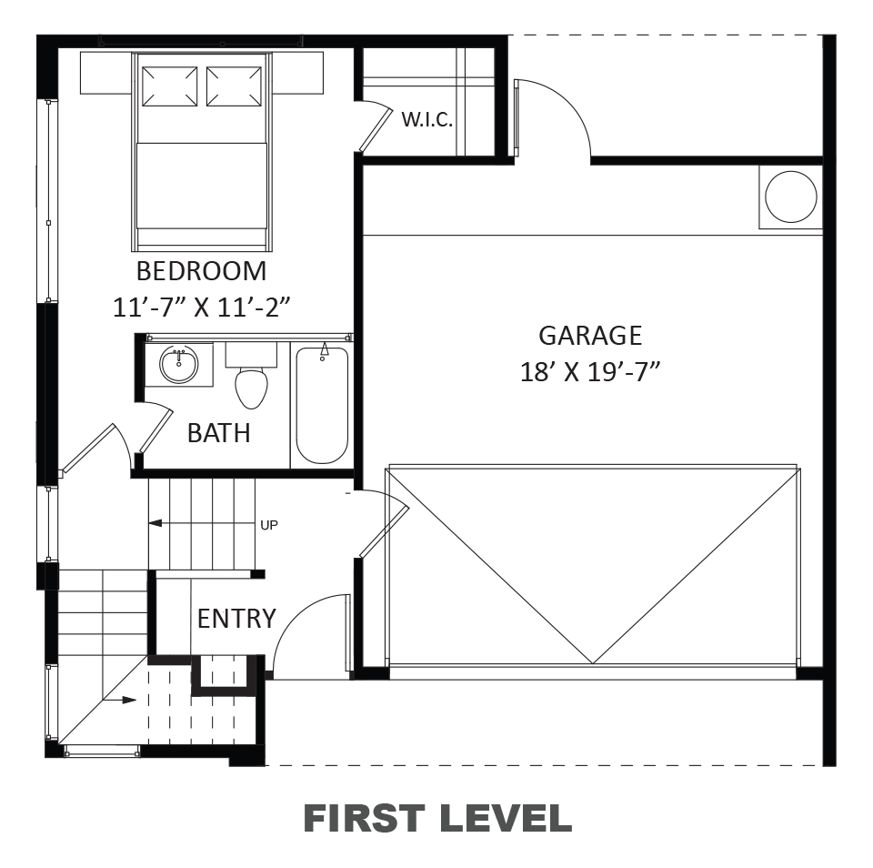 Ashley (Three-story), First floor