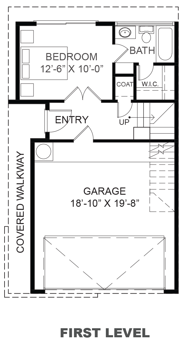 Lofts on Commerce - Plan B, First floor
